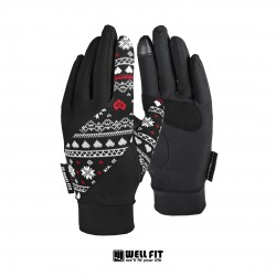 抗UV cut15+ 觸控防曬手套-三色