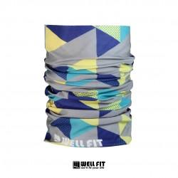 抗UV Cut15+MIT印花防曬魔術頭巾-四色