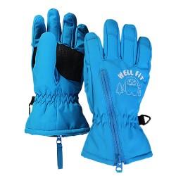 兒童五指保暖手套 - 小雪怪