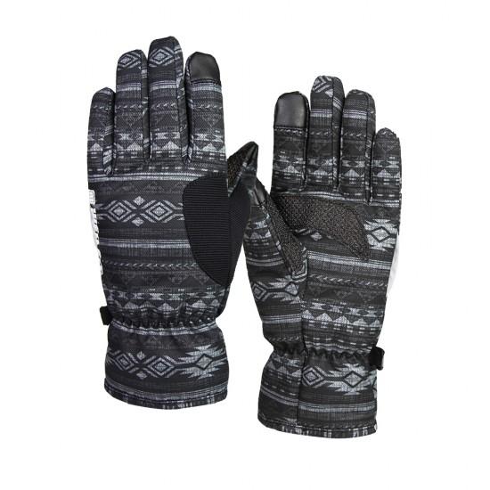 KEVLAR印花防水觸控通勤手套-兩色