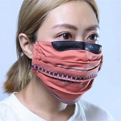 台灣特色 抗UV fit 50+ 防曬透氣口罩-紅磚民俗