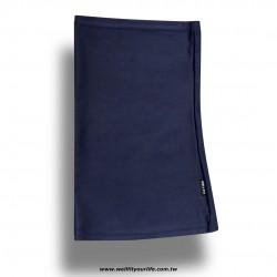 透氣彈性頭巾/女款 - 海軍藍