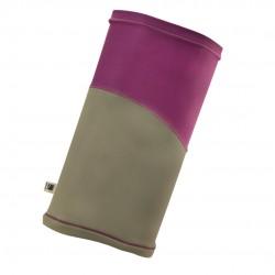 透氣保暖頭巾/女款 - 紫色