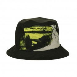 印花單面漁夫帽 - 三色