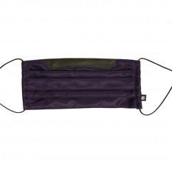 乾爽立體口罩/加寬尺寸 - 斜紋深紫