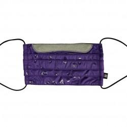乾爽立體口罩 - 泡泡紫
