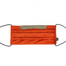 乾爽立體口罩/加寬尺寸 - 斜紋橘