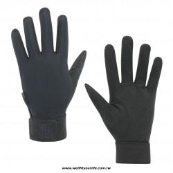 棒壘球守備手套 - 黑色