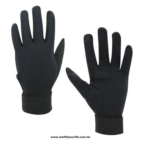 棒壘球補手手套/加墊 - 黑色