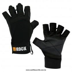 多功能半指手套 - 黑色