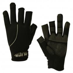 3M GRIP釣魚手套 - 黑色