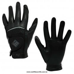 【女款】綿羊皮高爾夫手套- 雙手 -  鐵灰色