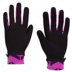 抗UV FIT 50+夏日繽紛防曬手套-紫紅箭頭