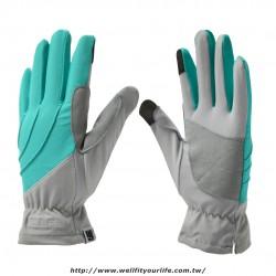 抗UV  Cut15+ 雙彩清爽防曬手套-三色
