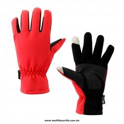 觸控防風防潑水手套 - 五色